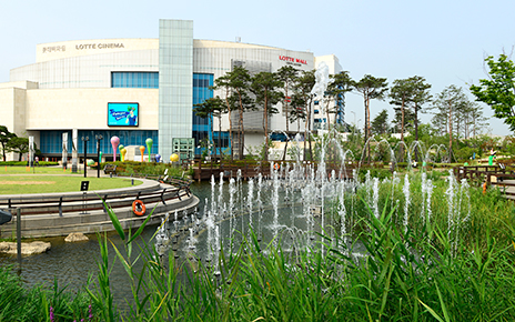 Lotte Mall Gimpo Landscaping Management