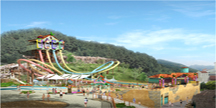 360도 회전하는「아쿠아루프(Aqua Loop)」오픈
