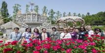 에버랜드 장미와 駐韓 대사 부인들의 '특별한 만남'