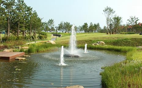 Shinhanjungdo El Dorado Resort Landscaping